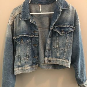 Cropped FP Denim Jacket